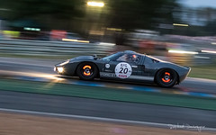 Pushing Hard (@raphcars) Tags: raphcars ford gt40 le mans classic 2018 lm lmc sarthe aco peter auto endurance racing racer race car sportscar v8 american shelby chris ward panning shot filé vitesse motion movement speed fast brakes discs glow glowing light red hot heat incandescent night nuit evening arnage corner track piste circuit lemansclassic attack driver pushing hard