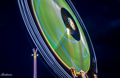 CNE - Mach 3 - at full swing (Donna Brittain - See what I see) Tags: lights night fun mach3 cne motion 2018 midway movement spinning record torontoontariocanada terror rides
