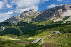 Malga Boch allo Spinale (marypink) Tags: dolomitidibrenta mountains malga sky landscape panorama sentiero escursione nikond7200 2470mmf28 m1978 dalrifugiobochalrifugiospinale