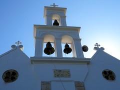 Divine light. (Ia Löfquist) Tags: crete kreta roadtrip biltur ortodox orthodox church kyrka bells klockor