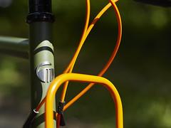 _1100297_1 (pilisiecki) Tags: gravel doitall silk road race stainless rack lowrider wtb paulcomponents white industries graam green orange custom thomson