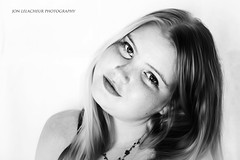 Kayla B&W (Jon Lelacheur Photography) Tags: child girl daughter father life recovery illness ileostomy pride proud blackandwhite portrait portraiture canon7dmk2