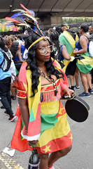 DSC_7141a Notting Hill Caribbean Carnival London Exotic Colourful Costume Girls Dancing Showgirl Performers Aug 27 2018 Flag of Granada Stunning Ladies (photographer695) Tags: notting hill caribbean carnival london exotic colourful costume girls dancing showgirl performers aug 27 2018 stunning ladies flag granada