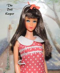 1967 Vintage Mod TNT Chocolate Bon Bon Barbie Doll (The doll keeper) Tags: 1967 vintage mod tnt chocolate bon barbie doll