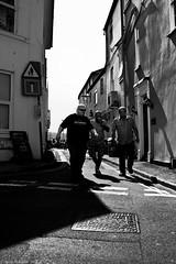 The Three Mustgetbeers. (Neil. Moralee) Tags: neilmoralee men man street dark beer silhouette candid teignmouth devon uk england drink drunk drinker pub road shadow mustgetbeer musgeteer dumas alexandre black white bw bandw contrast blackandwhite mono neil moralee nikon d7200 stagger walk friends people group