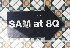 Singapore Art Museum (Naomi Rahim (thanks for 4 million visits)) Tags: gallery singapore art sam architecture asia 2017 travelphotography travel nikon nikond7200 wanderlust singaporeartmuseum museum exterior floor pavement tiles decorative typography wayfinding letterform