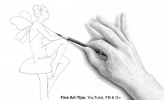 How to Create a 3D Effect by Shading - Narrated Drawing Tutorial (fineart-tips) Tags: art drawing finearttips shading woman hand tutorial artistleonardo leonardopereznieto patreon 3d tutto3
