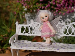Rose (steen76) Tags: knitting miniature ruthiepooh nanfairy bjd micro bluefairy