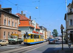 Wasser für Rellinghausen (trainspotter64) Tags: strasenbahn streetcar tram tramway tranvia tramvaj tramwaje essen evag ruhrgebiet gt6 düwag nrw