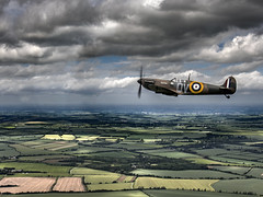 Spitfire 1A Wing to Wing B (Anthony Britton) Tags: someofmyfavouritesof2017and2018