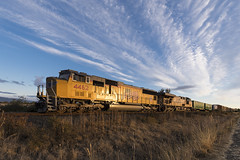 Consolation prize (Tom Trent) Tags: sd70m c45accte gevo ge emd diesel up unionpacific harrisburg alford siding switch freight manifest