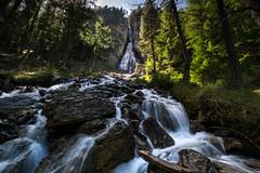 cascade de la Pisse (alexiscrozier1) Tags: waterfall river rivière nature paysage landscape cascadedelapisse ceillac hautesalpes france photographie photographe rocher water