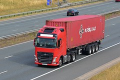 YF63 KTP (Martin's Online Photography) Tags: volvo fh4 truck wagon lorry vehicle freight haulage commercial transport a1m nikon nikond7200 northyorkshire