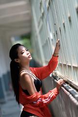 DSC_4622 (錢龍) Tags: 葉嘉 台灣 台中 宜寧中學 外拍 穿環 內衣 酷 女孩 nikon d850