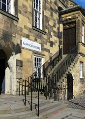 Alnwick Town Hall (Snapshooter46) Tags: entrance steps ironrail sandstone grade1listed civicbuilding alnwick townhall northumberland townsquare