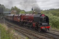 6233 Duchess Of Sutherland (MitchellTurnbull) Tags: lms london midland scottish railway 6233 46233 duchess sutherland highley svr severn valley nikon d3200 rail photography steam loco locomotive autumn gala september railroad