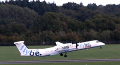 G-ECOD FlyBe DHC-8 Q400 rotate SOU 210918 (kitmasterbloke) Tags: sou southampton aircraft aviation airliner transport hampshire outdoor