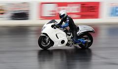 Busa_2633 (Fast an' Bulbous) Tags: bike biker moto motorcycle motorsport fast speed power acceleration drag strip race track santa pod nikon racebike