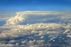 up and away (Rita Eberle-Wessner) Tags: luftbild aere aerialview wolken clouds himmel sky flugzeug plane