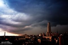 Angry Skies (Hi-Fi Fotos) Tags: pittsburgh storm weather sky pitt universityofpittsburgh cathedraloflearning city urban clouds nikon d7200 dx hififotos hallewell