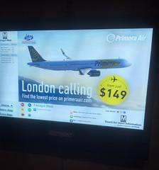 Metro ad (Dan_DC) Tags: londoncalling advertisement metro washingtondc airline