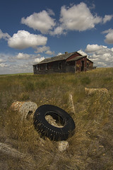 Retired (Len Langevin) Tags: abandoned old house home farm derelict forgotten rural decay alberta canada nikon d7100 tokina 1116