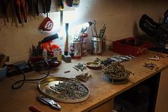 A Screw Loose (lewist584) Tags: sonynex5r sony nex5r nex emount minoltamdmount vivitar28mmf28 lewist584 luxembourg lieler screws shed tools