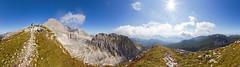 Towards the Warscheneck (herbraab) Tags: 360 alps warscheneck upperaustria austria totesgebirge fisheye panorama canoneos550d sigma10mmf28
