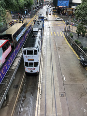 HK Tram (syf22) Tags: holiday vacation travel journey asia tram lightrail electric electrication rail classic old tradition road street earthasia