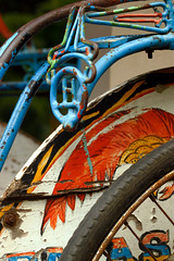 Pacific driewieler (matthijs.vandervaart) Tags: 100bicycles bike bikes bicycle bicycles fiets band fietswiel driewieler