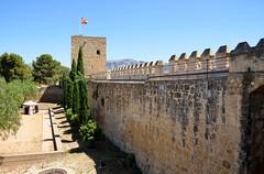 Antequera, de Torre Blanca van de Alcazaba, Spanje Andalusië 2018 (wally nelemans) Tags: antequera torreblanca alcazaba kasteel castle spanje spain españa andalusië andalusia andalucia 2018