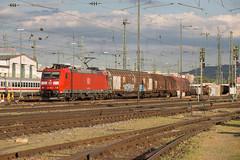 DB 185 088 Basel Bad (daveymills37886) Tags: db 185 088 basel bad baureihe bombardier traxx cargo