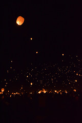 2017.09.09 Lantern Fest, Poconos Racetrack, PA (Katie Wilson Photography Adventures) Tags: lantern fest 2017 pocono struggle is real with light dark night photography did best katie wilson photo adventures dont catch fire stop drop roll freezing windy friends let it go beautiful peaceful random moments up sky amazing experience make wish