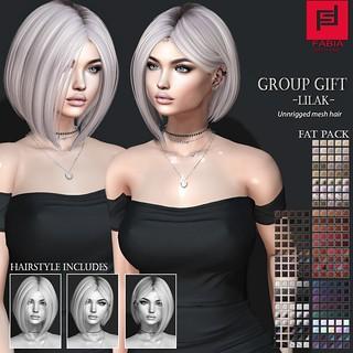 Group GIFT Lilak