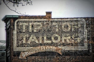 Hamilton Ontario - Canada - Tip Top Tailors Ghost Sign - Mills Building