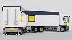 MAN TGX BDF (John D O'Shea) Tags: moc man tgx bdf lego truck trailer