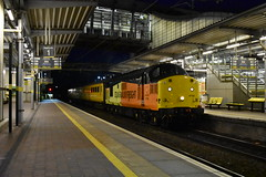 Colas Rail Freight 37116 @ Liverpool South Parkway (Liam Blundell Photography) Tags: colas rail freight class 37 37116 97304 network liverpool south parkway night shot supershot manchester oxford southport wigan john tiley crewe cs lnwr 1q47 old thrash edge hill