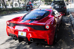 Ferrari 458 Speciale (Hunter J. G. Frim Photography) Tags: supercar car week carmel monterey 2018 carweek ferrari 458 speciale italian coupe v8 red rosso fuoco ferrari458 ferrari458speciale