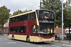 Go Ahead East Yorkshire 805, BF67GHH. (EYBusman) Tags: go ahead east yorkshire motor services eyms prospect street city centre hull bus coach mcv evoseti volvo b5tl bf67ghh eybusman