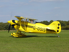 G-OSIS Pitts S-1S Special cn PFA 009-12043 Sywell 01Sep18 (kerrydavidtaylor) Tags: egbk orm sywellaerodrome northamptonshire pittss1