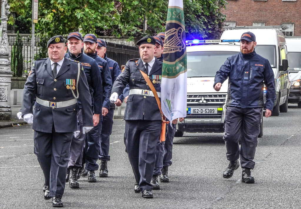 NATIONAL SERVICES DAY [PARADE STARTED OFF FROM NORTH PARNELL SQUARE]-143673