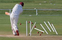 Bowled (Dexon123) Tags: cricket sports essex uk