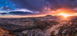 Sunset from the Hogback