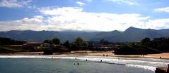 Palombino Beach,Asturias (gilmavargas) Tags: beach mountain sky bay asturias palombinabeach palombina water