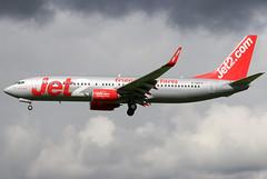 G-GDFV (GH@BHD) Tags: ggdfv boeing 737 737800 738 b737 b738 ls exs jet2 bfs egaa aldergrove belfastinternationalairport airliner aircraft aviation