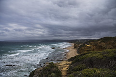Split Point (CraDorPhoto) Tags: canon6d sky cloudy greatoceanroad australia ocean water waves cliffs nature outdoors beach coast coastline