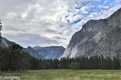 Yosemite Valley (dwight g) Tags: canon 6d 24105 yosemite rockcliff meadow clouds ps topaz