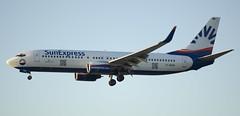 Sunexpress Boeing 737-8CX (Andreas Gugau) Tags: verkehr airport fra eddf flugzeug landung frankfurt hessen deutschland deu boeing 7378cx 737 737800 sunexpress dasxe
