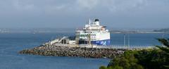 18 09 06 IF Oscar Wilde at berth Roscoff (1) (pghcork) Tags: irishferries oscarwilde roscoff bayofmorlaix ferry ferries carferry ships shipping ship brittany bretagne france 2018