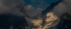 Ombre et Lumière au Col du Chardonnet (Frédéric Fossard) Tags: landscape mountain sky nuage cloud mountainside mountainpass glacier neige snow alpes hautesavoie rocher granite altitude nature sauvage lumière light ombre shadow cimes crêtes arêtes mountainridge mountainrange alpenglow hautemontagne massifdumontblanc